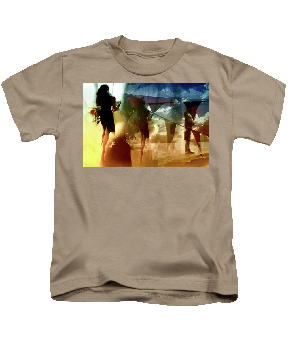 Danica Radman Kids T-Shirt featuring the photograph O How Much More Doth Beauty Beauteous Seem by Danica Radman