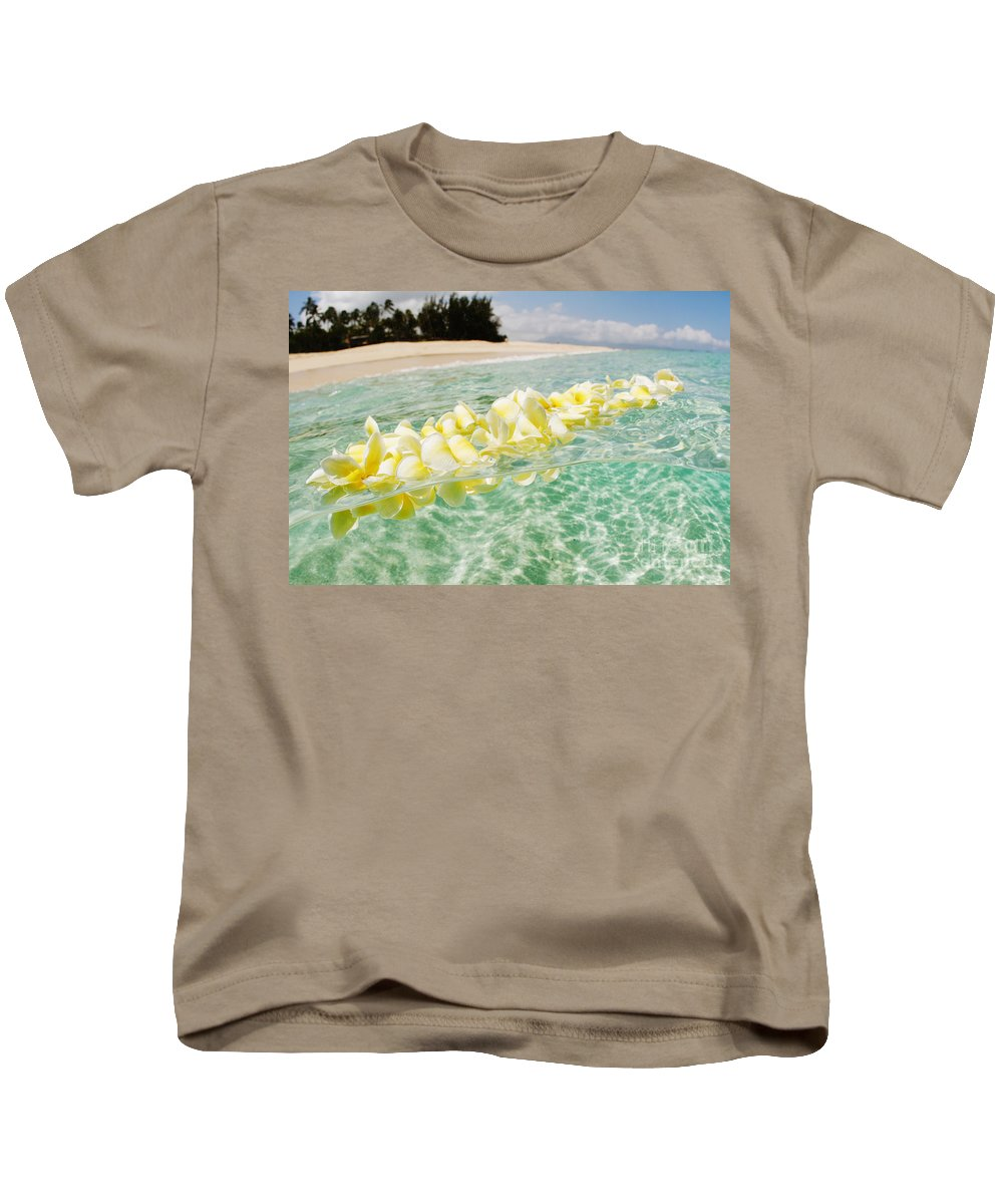 Afternoon Kids T-Shirt featuring the photograph Ocean Lei by Vince Cavataio - Printscapes
