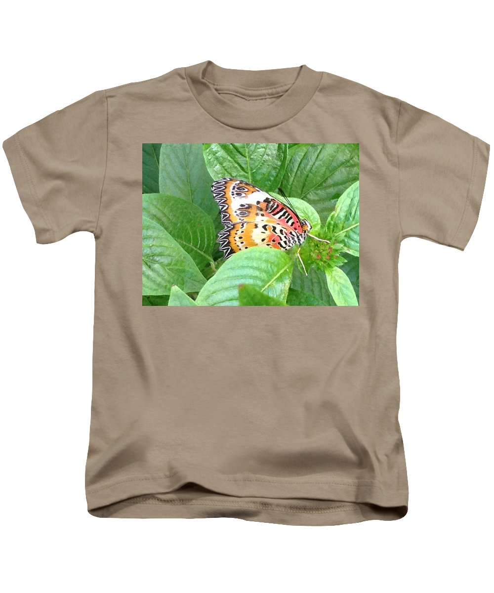Nature Kids T-Shirt featuring the photograph Out Of Hiding by Darren Rudd