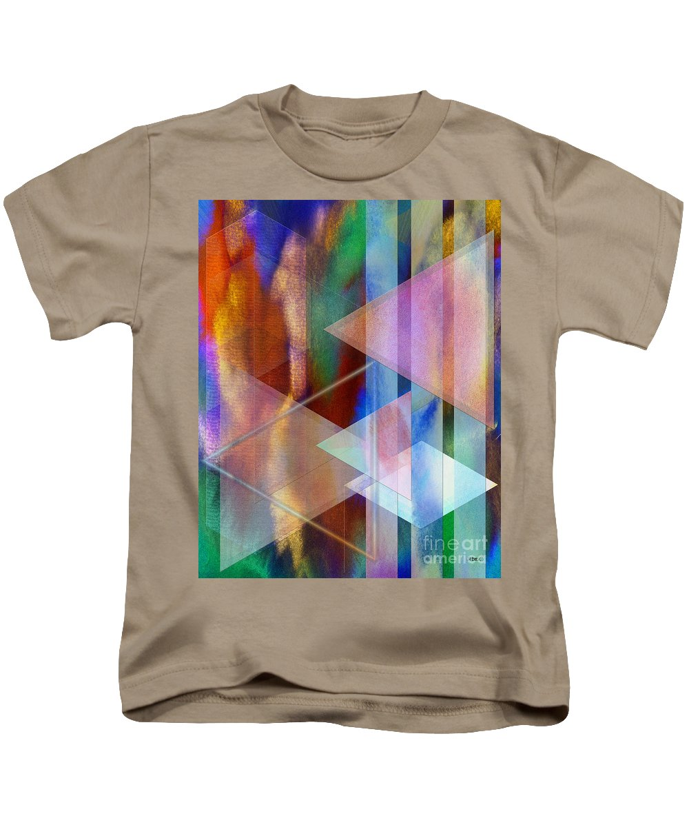 Pastoral Midnight Kids T-Shirt featuring the digital art Pastoral Midnight by John Beck