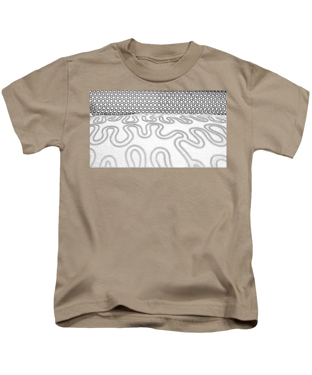 Patterns Kids T-Shirt featuring the photograph Patterns by Caterina Kuo