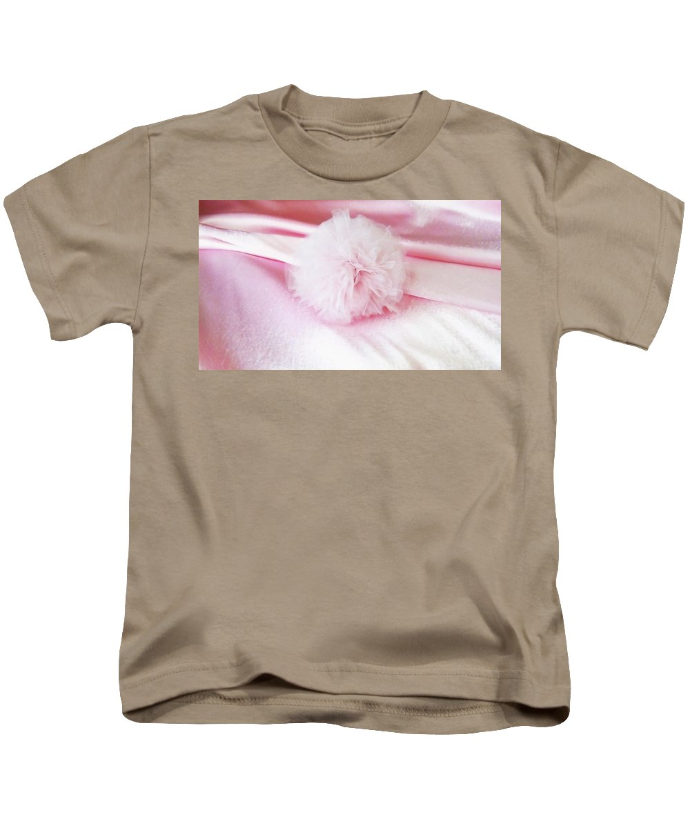 Pink Kids T-Shirt featuring the photograph Pink Cloud by Anastasia Letunova