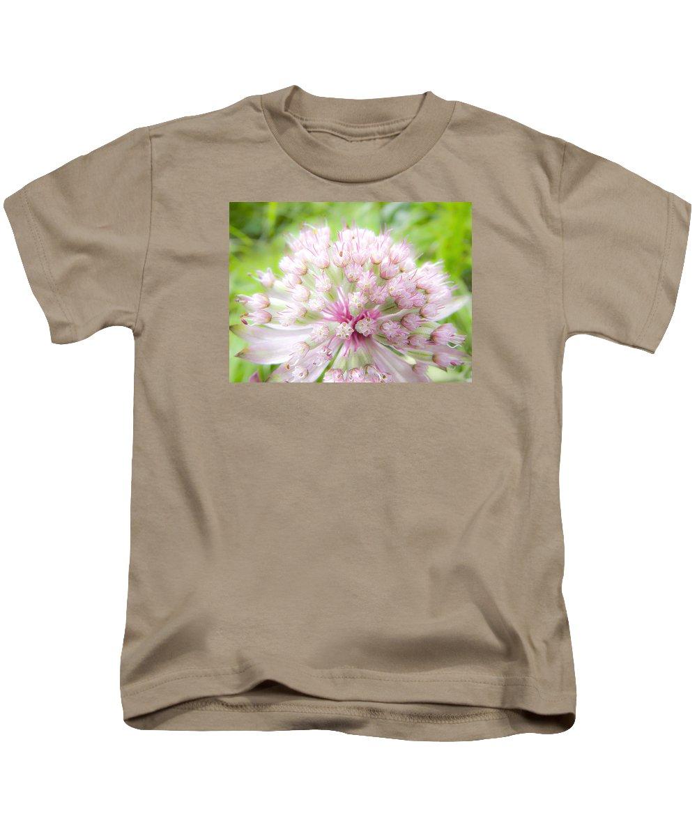Forest Kids T-Shirt featuring the photograph Pink Summer by Irina Effa