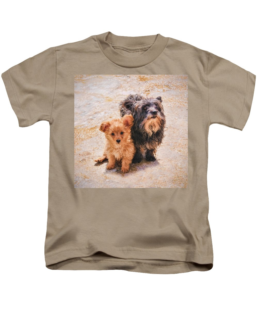 Abandoned Kids T-Shirt featuring the photograph Please Take Me Home 3 by Roy Pedersen