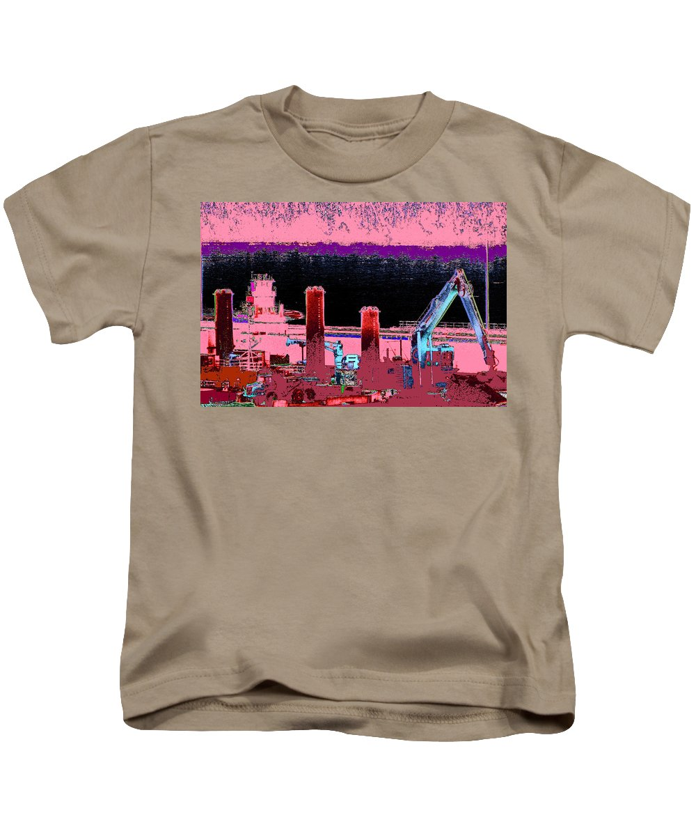 Abstract Kids T-Shirt featuring the photograph Pretty In Pink by Rachel Christine Nowicki