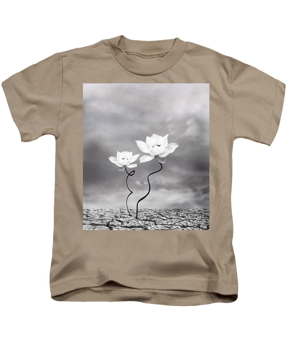 Surreal Kids T-Shirt featuring the photograph Prevail by Jacky Gerritsen