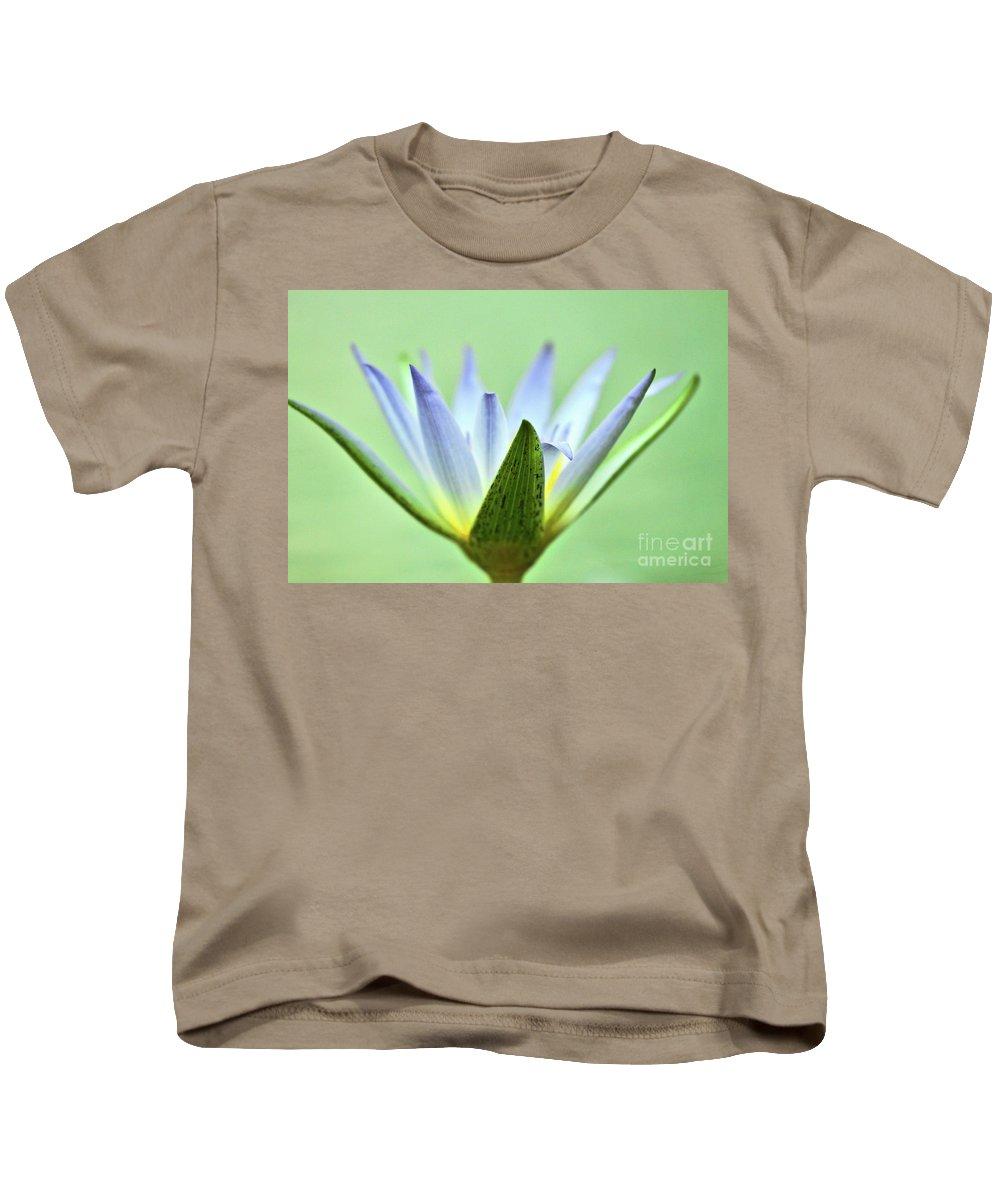 Petal Kids T-Shirt featuring the photograph Radar Dish by Stephen Mitchell