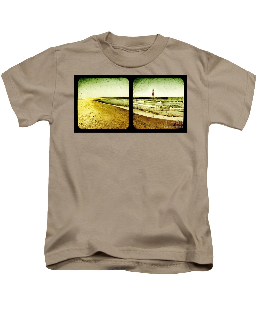 Ttv Kids T-Shirt featuring the photograph Reaching For Your Hand by Dana DiPasquale
