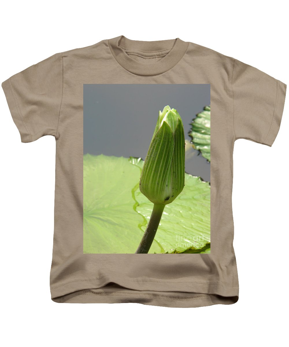Lilly Kids T-Shirt featuring the photograph Ready To Bloom by Amanda Barcon