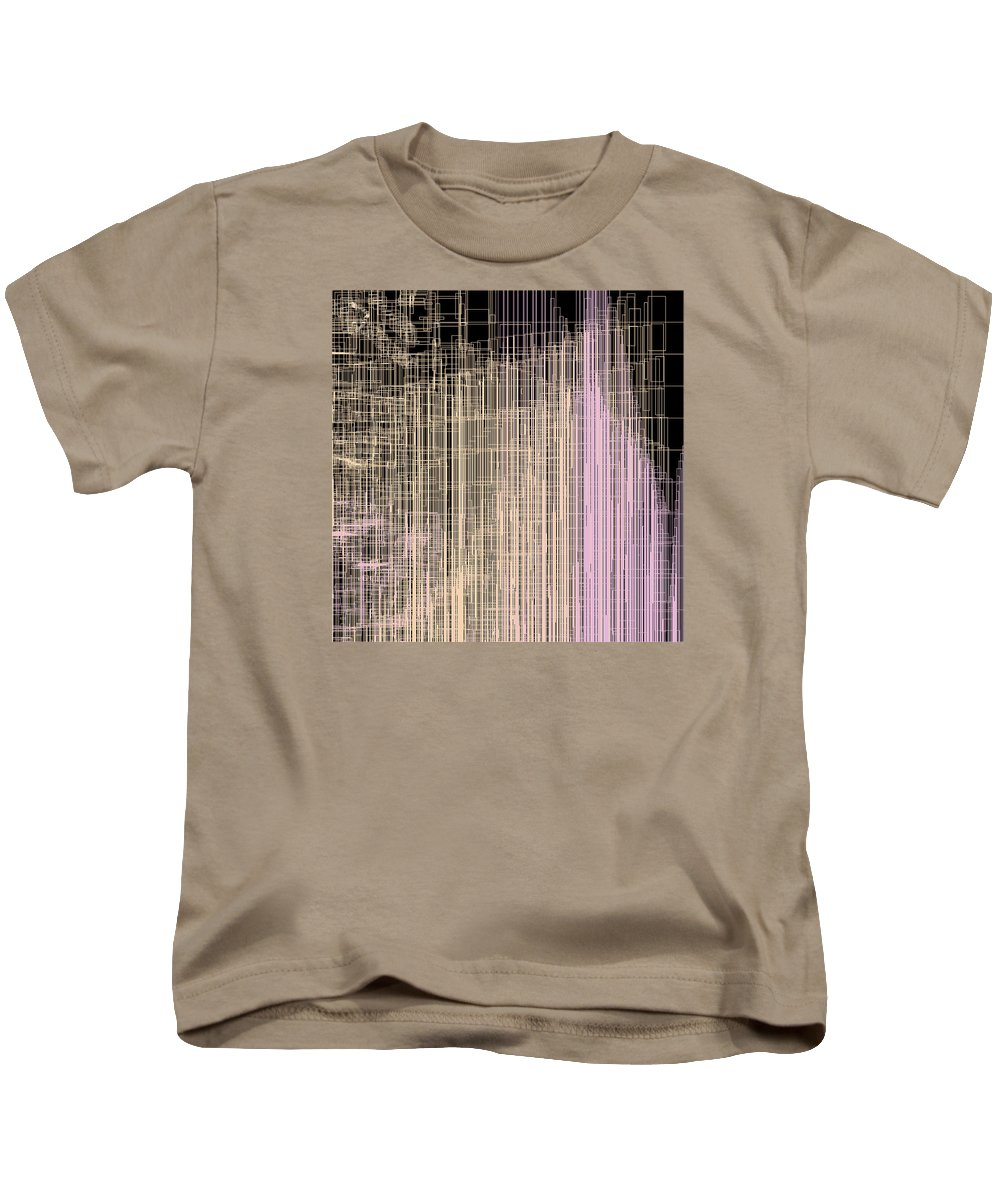 Abstract Kids T-Shirt featuring the digital art S.4.41 by Gareth Lewis