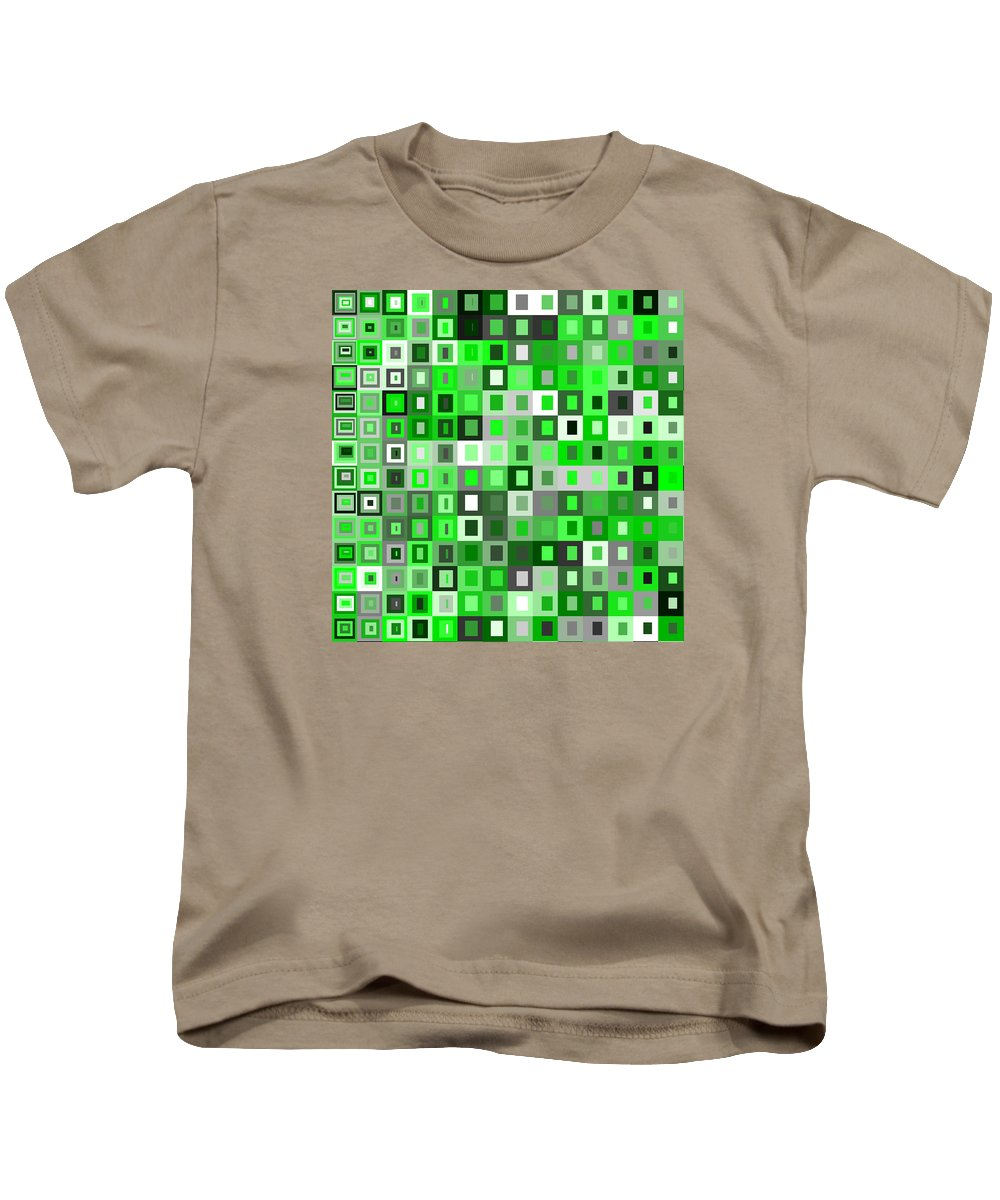 Abstract Kids T-Shirt featuring the digital art S.5.40 by Gareth Lewis