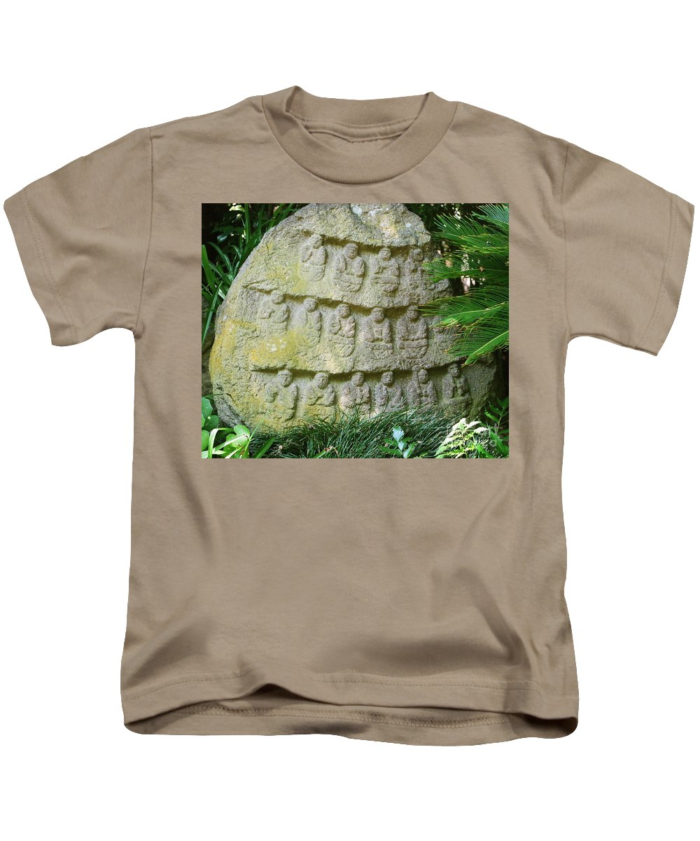 Stone Kids T-Shirt featuring the photograph Sacred Stone by Dean Triolo