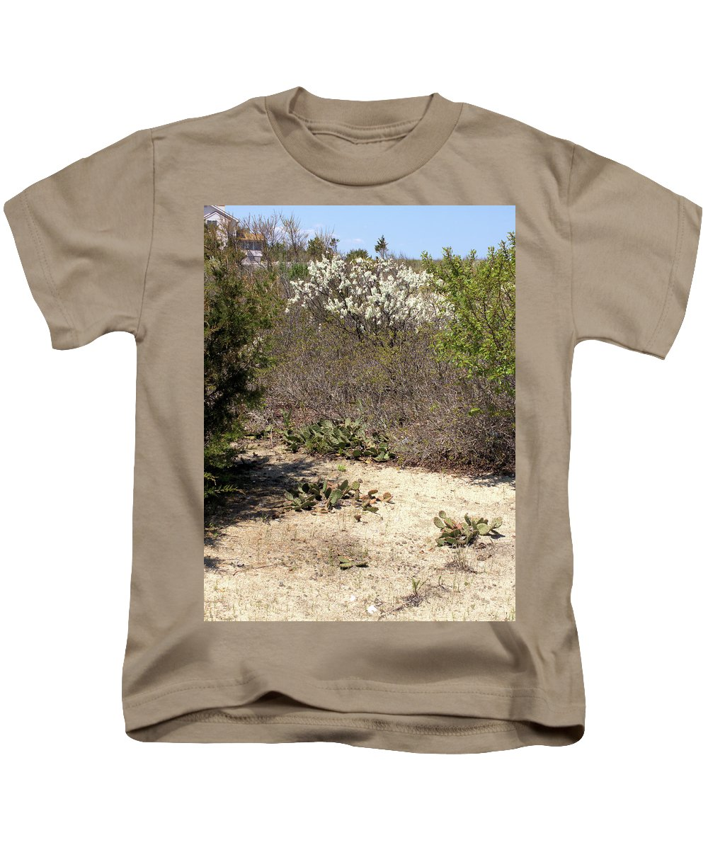 Beach Path Kids T-Shirt featuring the photograph Sand Dune Path by Robert McCulloch
