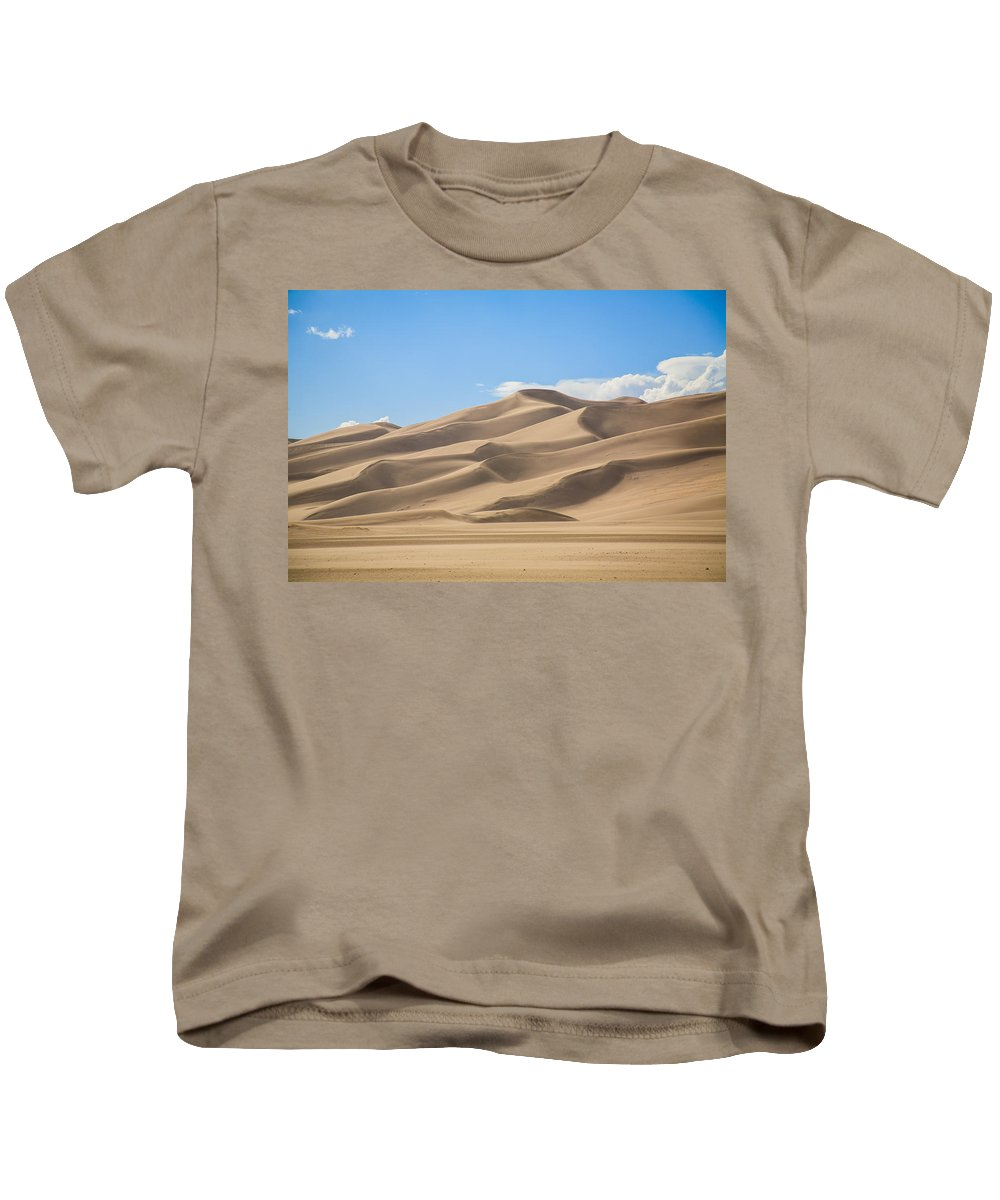 Sand Kids T-Shirt featuring the photograph Sand Dunes by Paul Moore