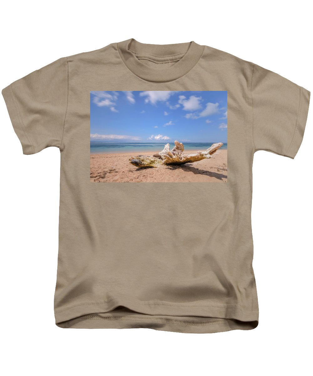 Sanur Beach Kids T-Shirt featuring the photograph Sanur Beach - Bali by Joana Kruse