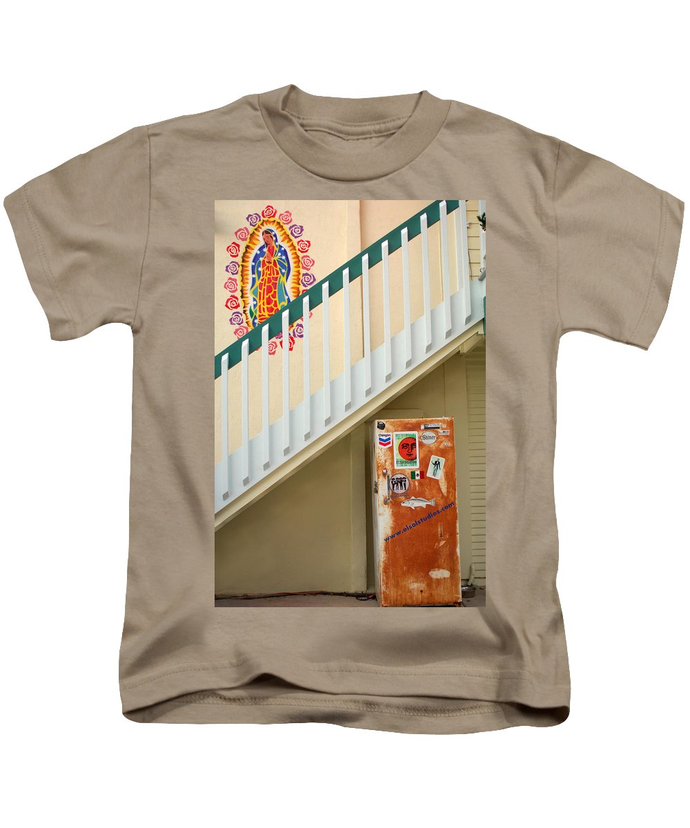 Urban Kids T-Shirt featuring the photograph Saying Grace by Jill Reger