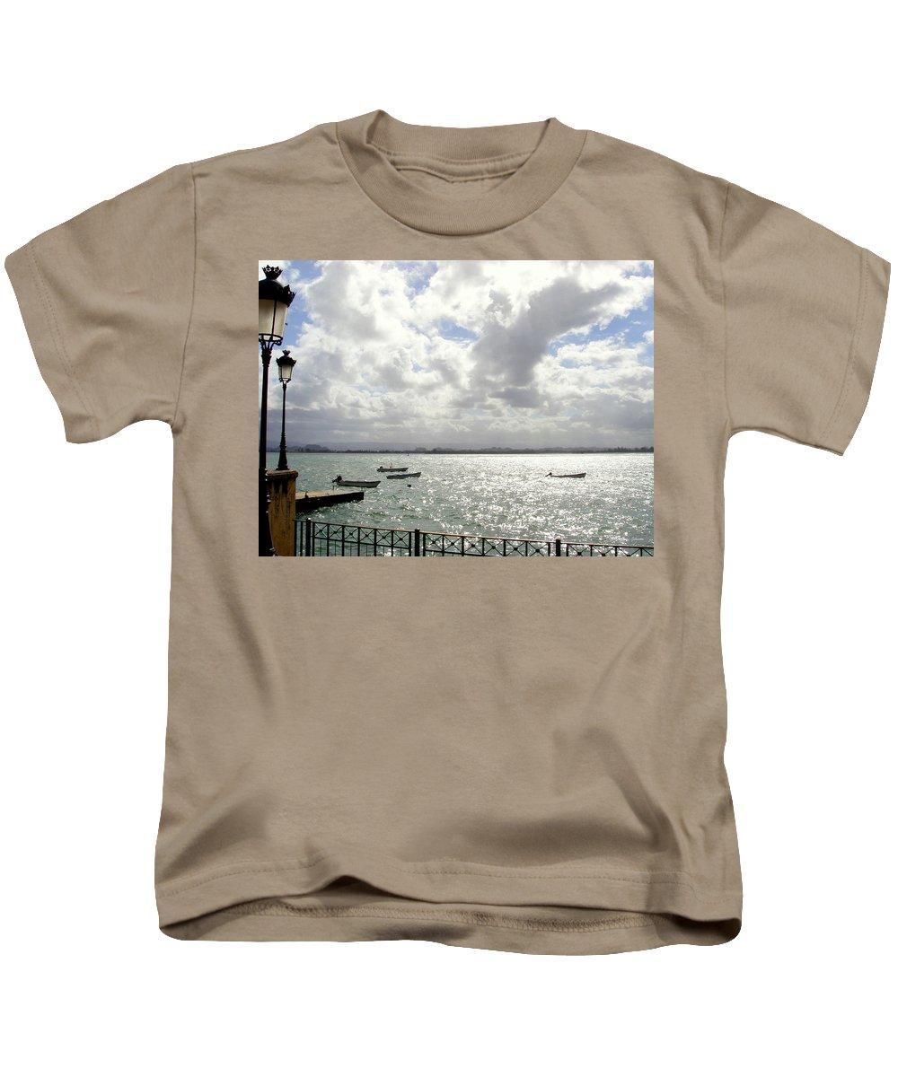 Seaside Kids T-Shirt featuring the photograph Serene by Deborah Crew-Johnson