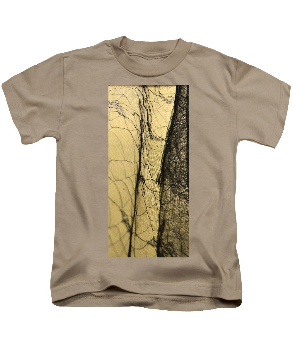 Spider Web Kids T-Shirt featuring the photograph Silk Web by Josephine Buschman