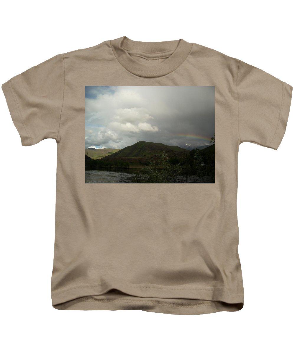 Landscape Kids T-Shirt featuring the photograph Sky by Sara Stevenson