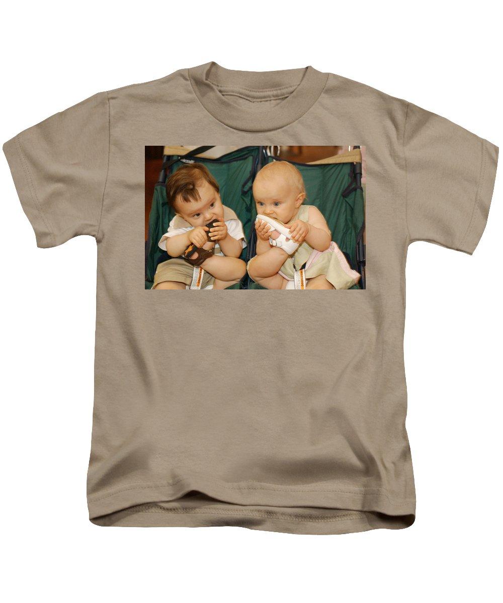 Feet Kids T-Shirt featuring the photograph Sole Food by Jill Reger