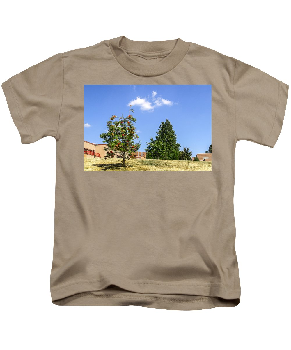 Digital Kids T-Shirt featuring the photograph Sorb-tree by Arthur Babiarz
