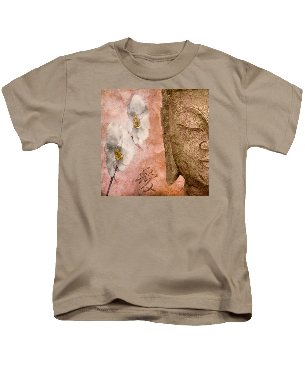 Orchid Kids T-Shirt featuring the photograph Sound Of Silence by Claudia Moeckel