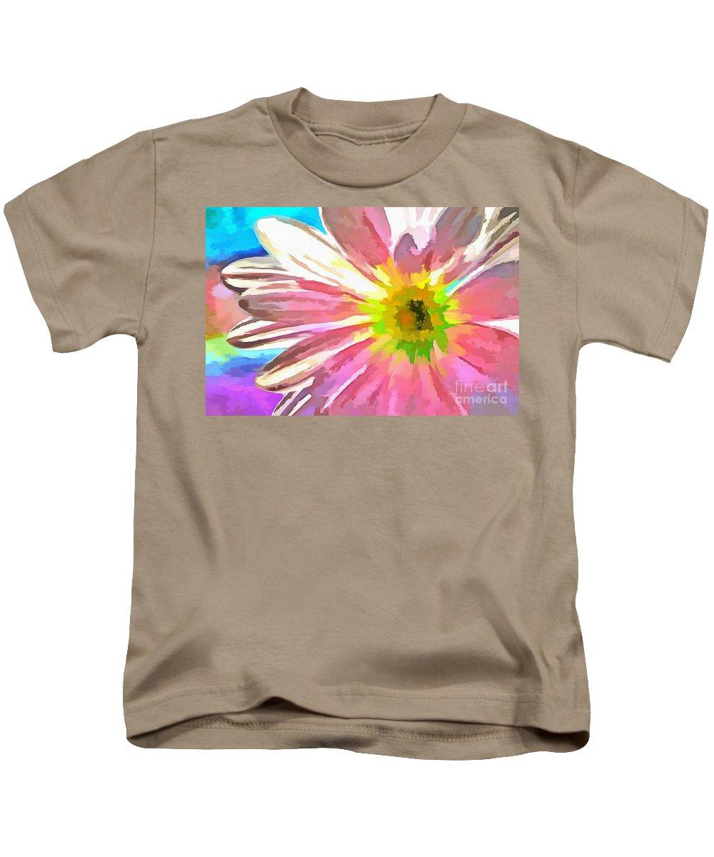 Daisy Kids T-Shirt featuring the photograph Spread Joy by Krissy Katsimbras