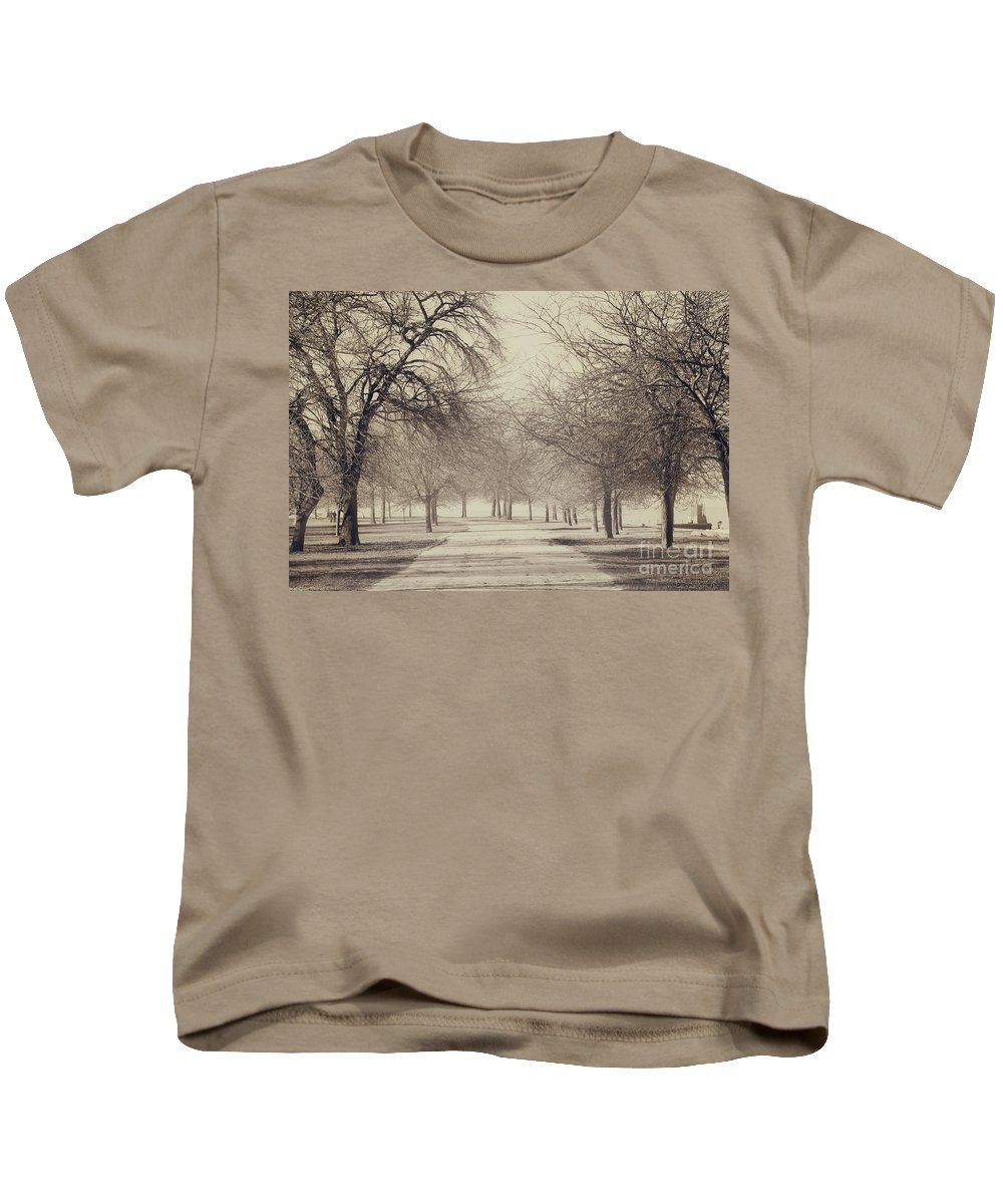 Trees Kids T-Shirt featuring the photograph Stand Where I Stood by Dana DiPasquale