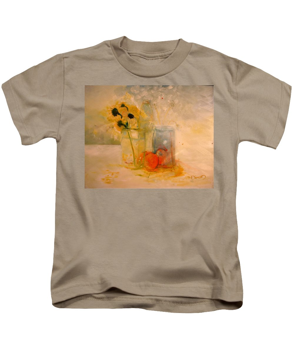 Daisey Kids T-Shirt featuring the painting Summer Light by Jack Diamond