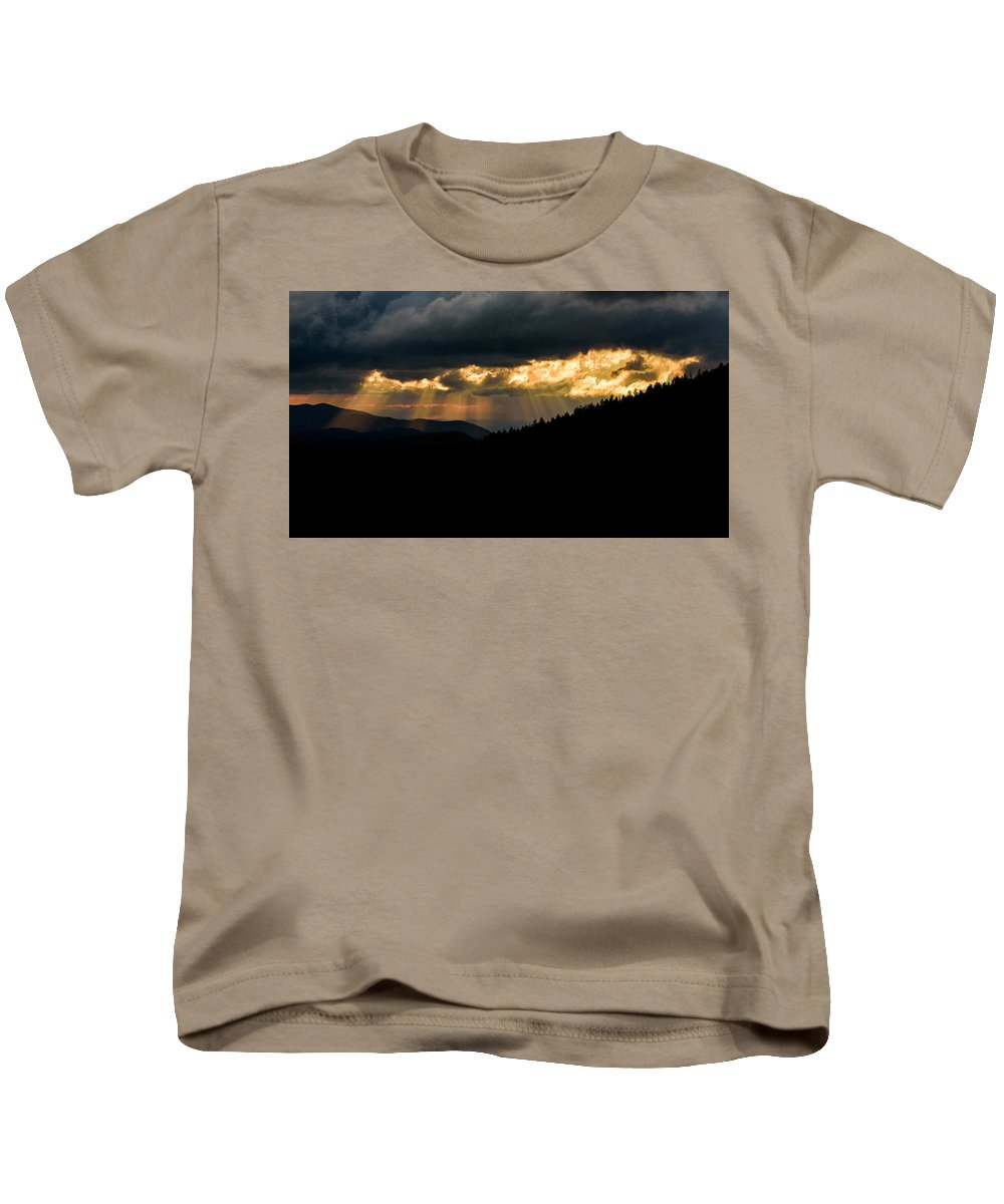 Landscape Kids T-Shirt featuring the photograph Sunset Delight by Rob Mould