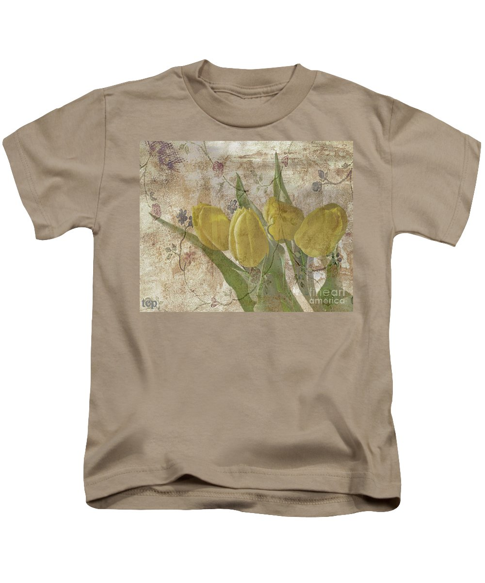 Yellow Kids T-Shirt featuring the photograph Sweetness by Traci Cottingham