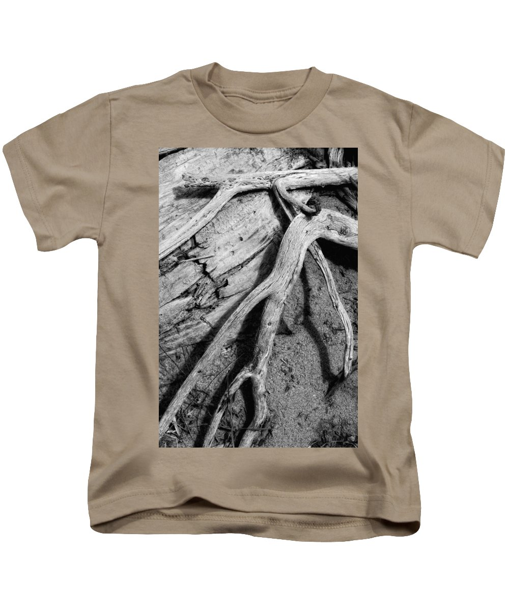 Wood Kids T-Shirt featuring the photograph Tender Death by Donna Blackhall