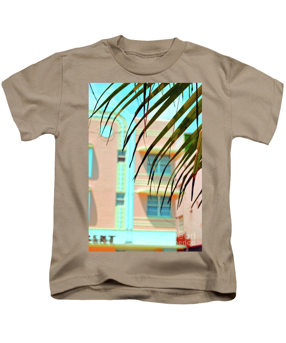 Hotel Kids T-Shirt featuring the photograph The Crescent by Jost Houk