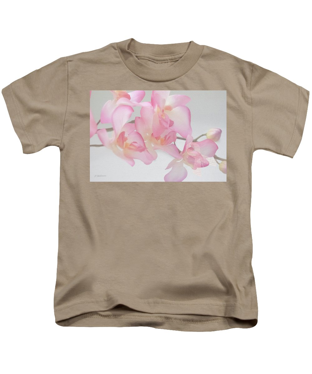Orchid Kids T-Shirt featuring the photograph The Orchid by Pamela Williams