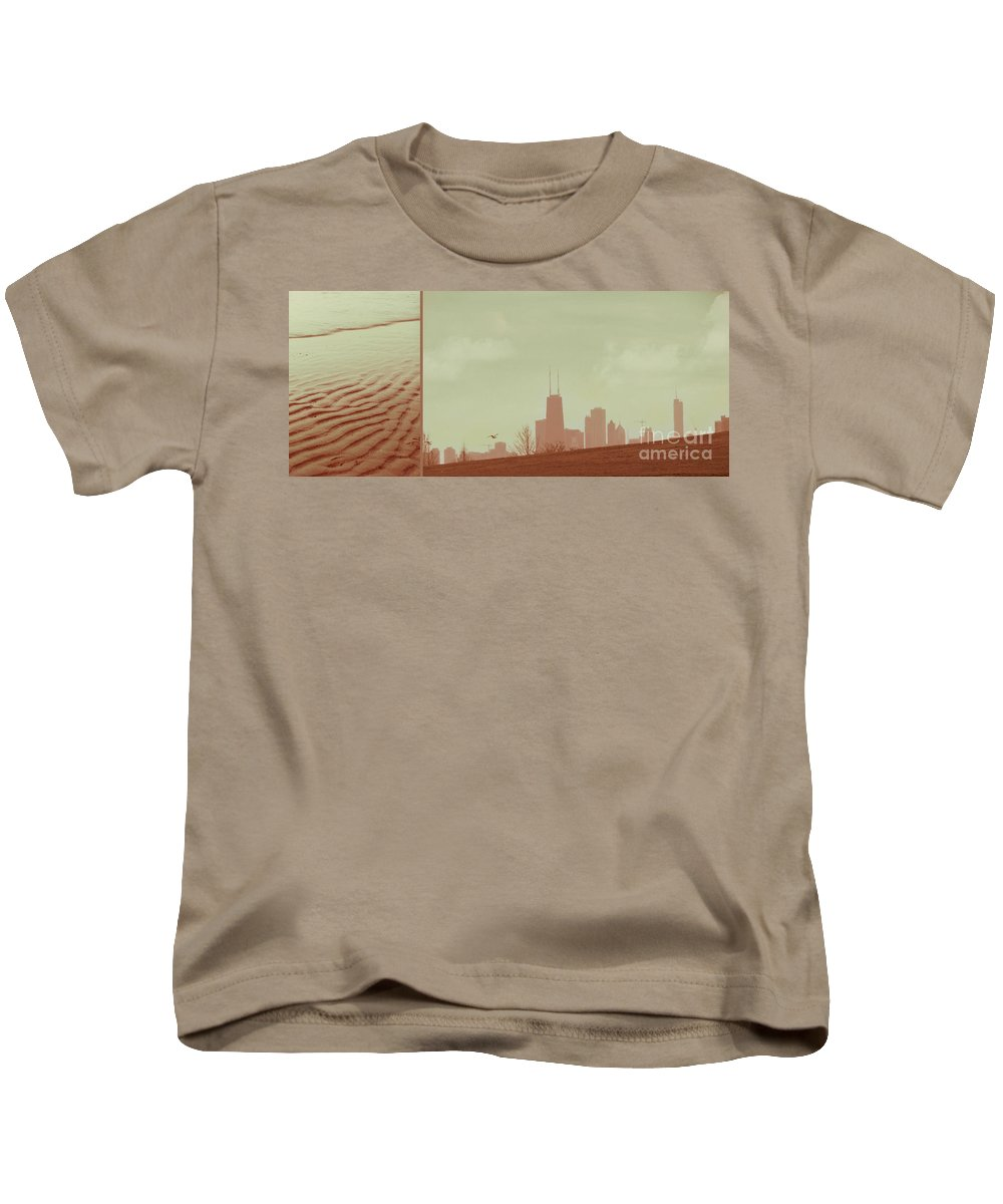 Beach Kids T-Shirt featuring the photograph The Other Side Of Fate by Dana DiPasquale