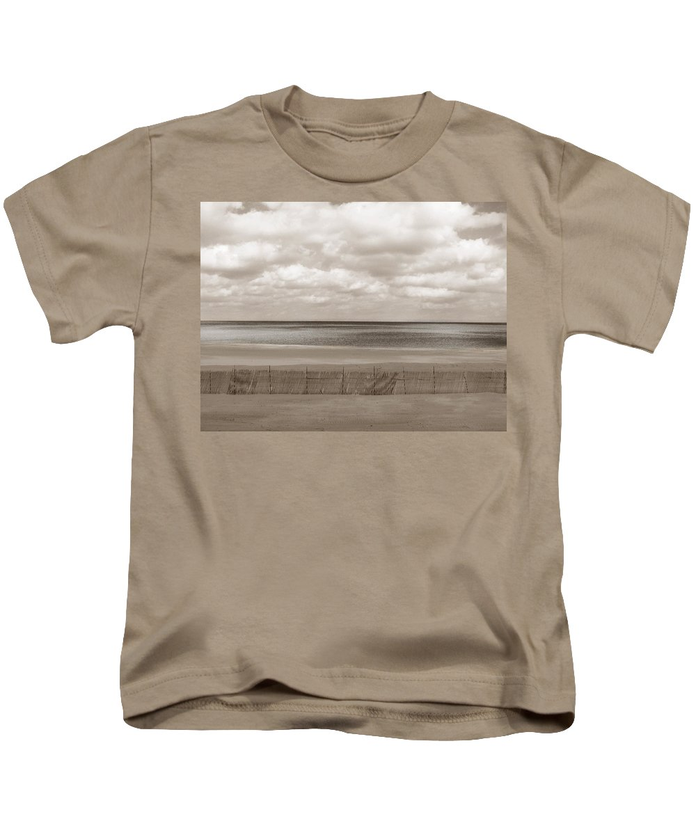 Ocean Kids T-Shirt featuring the photograph The Perfect Sky Is Torn by Dana DiPasquale