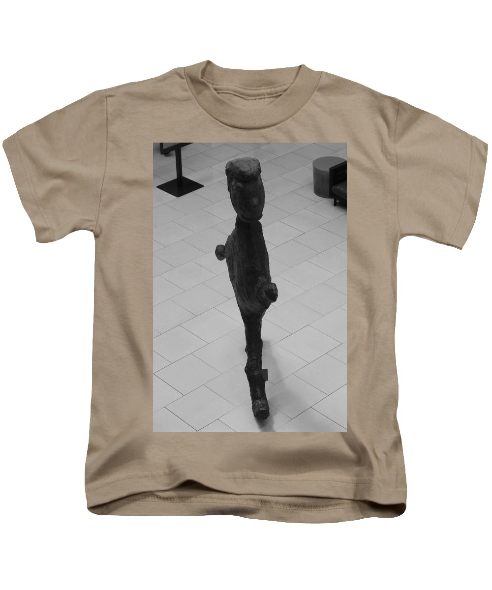 Pop Art Kids T-Shirt featuring the photograph The Thin Man by Rob Hans