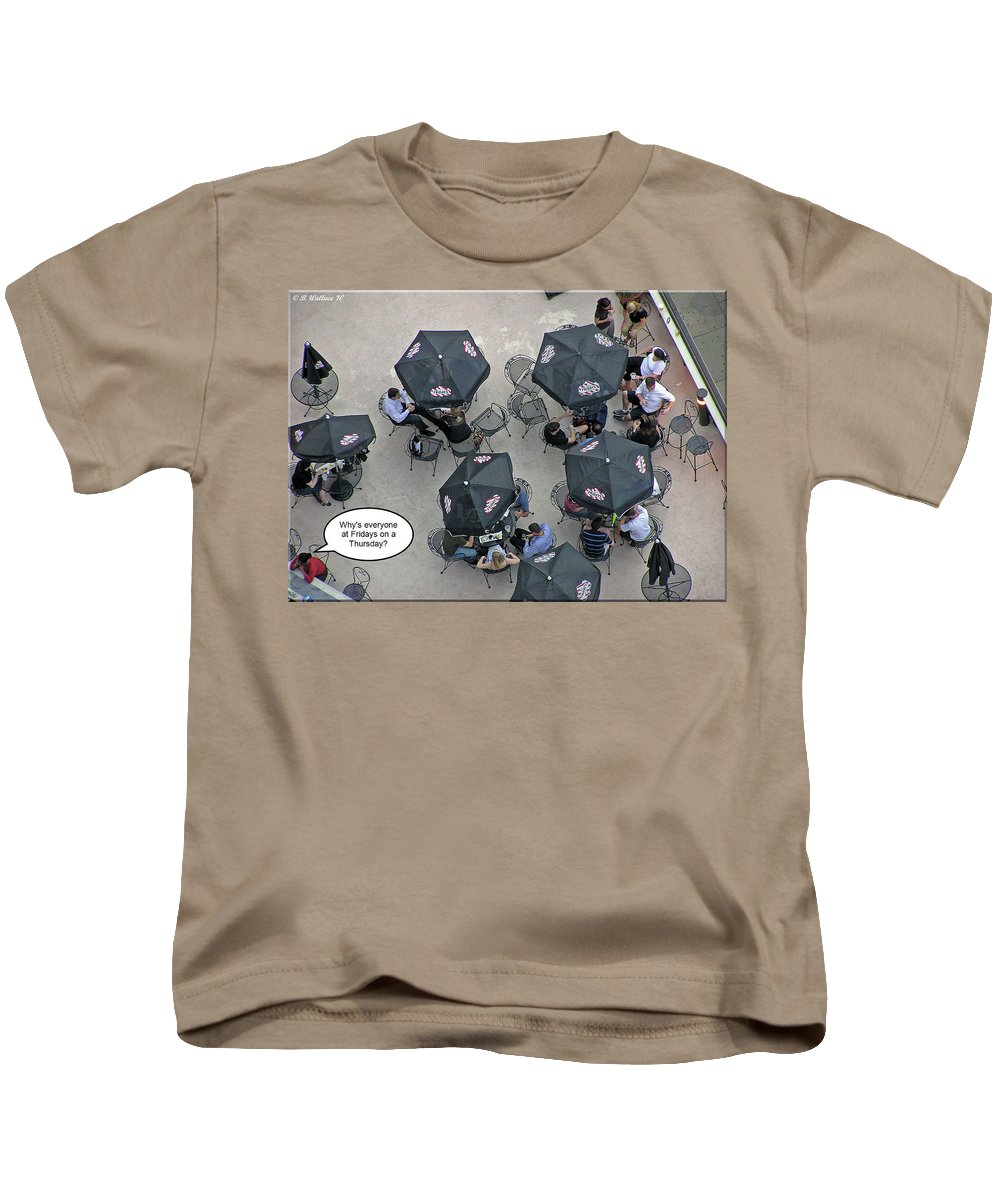 2d Kids T-Shirt featuring the photograph Thursday by Brian Wallace