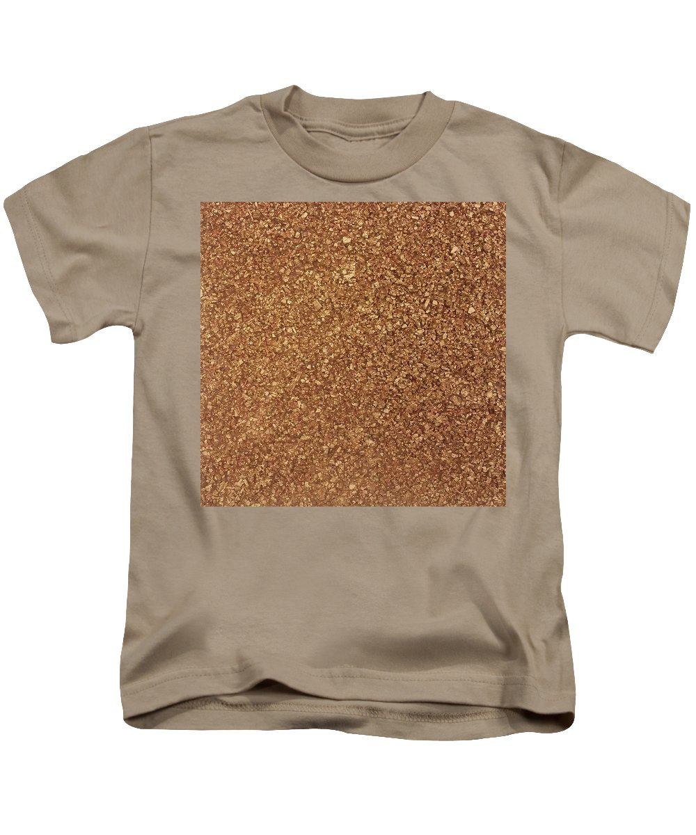 Abstract Painting Kids T-Shirt featuring the painting Touch Of Gold by Alan Casadei