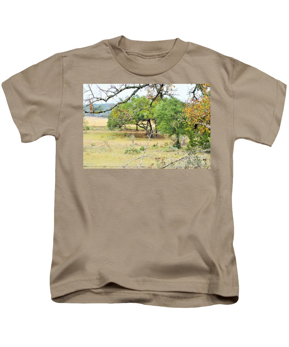 Kids T-Shirt featuring the photograph Trees 013 by Jeff Downs