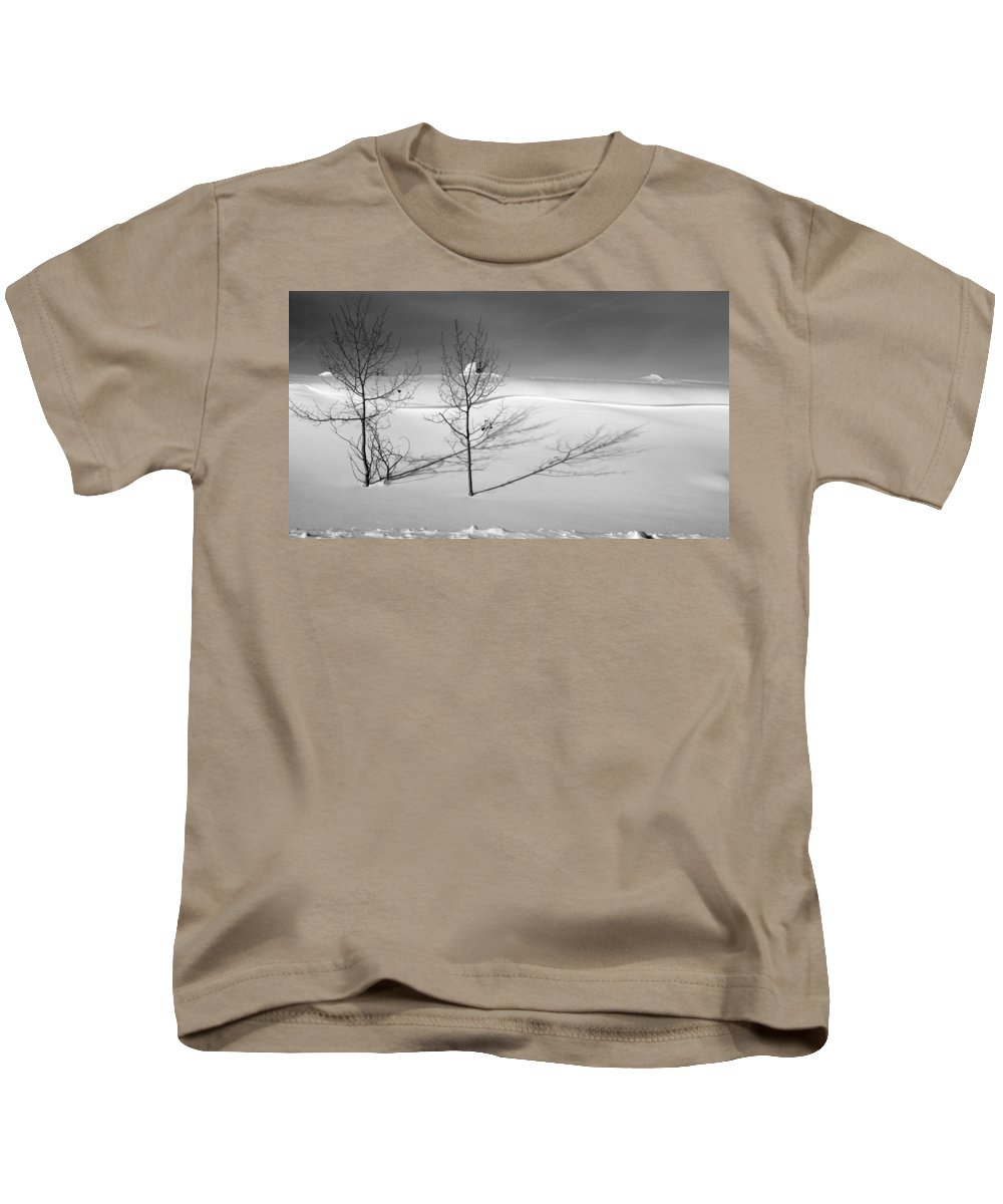 Nature Kids T-Shirt featuring the photograph Twins by Skip Hunt
