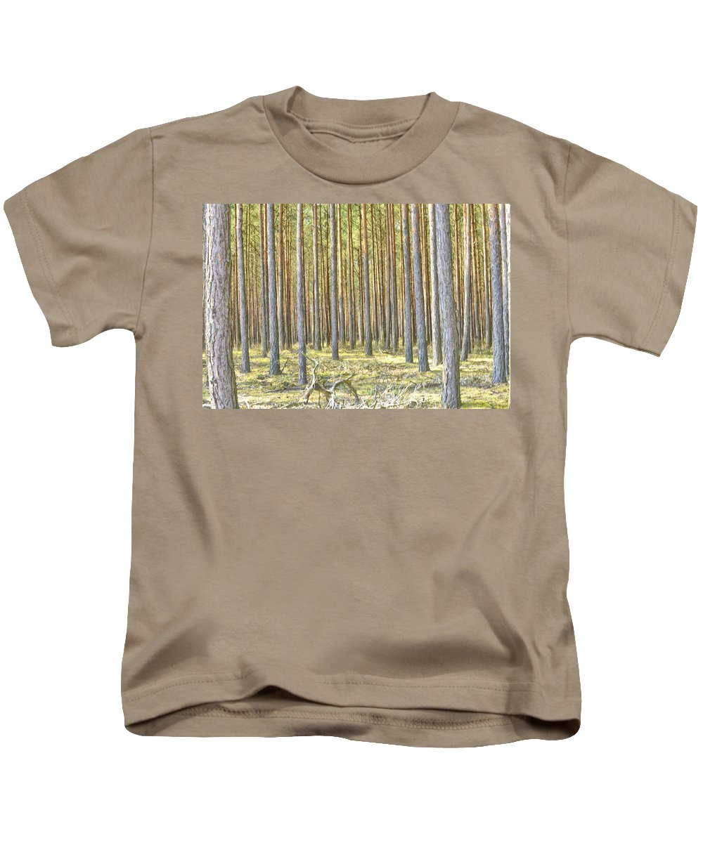 Undergrowth Kids T-Shirt featuring the photograph Underbrush. by Adriano Bussi