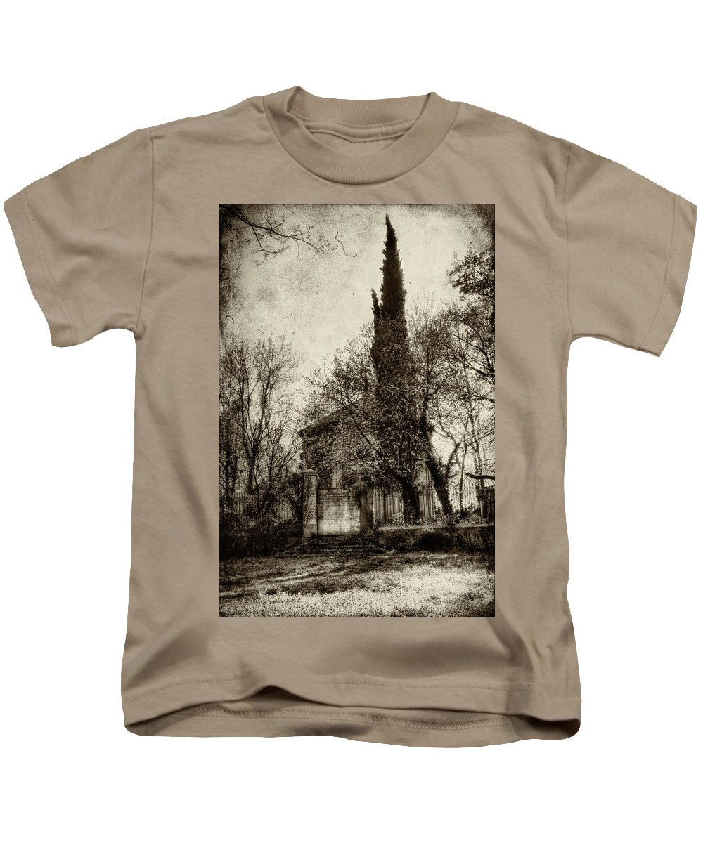 Abandoned Places Kids T-Shirt featuring the photograph Untitled N.96 by Roberto Pagani