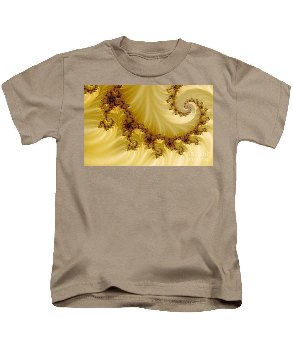 Clay Kids T-Shirt featuring the digital art Valleys by Clayton Bruster
