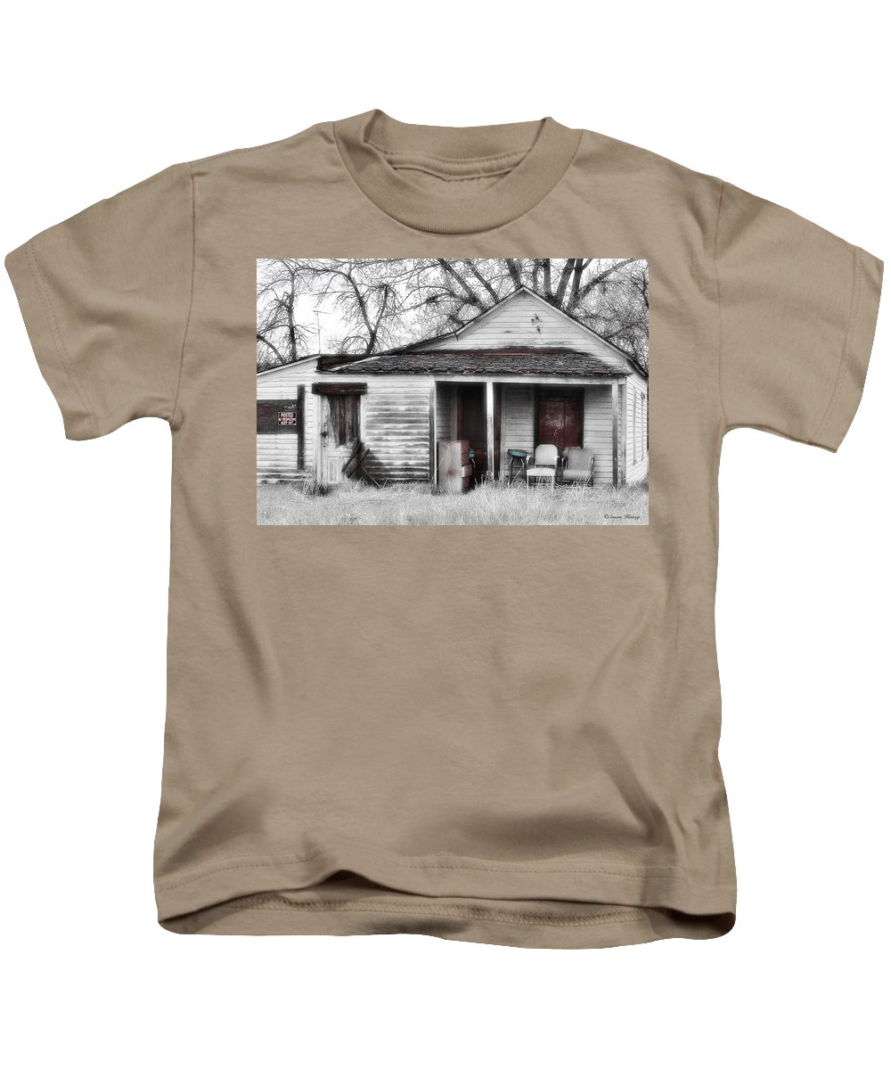 House Kids T-Shirt featuring the photograph Waiting by Susan Kinney