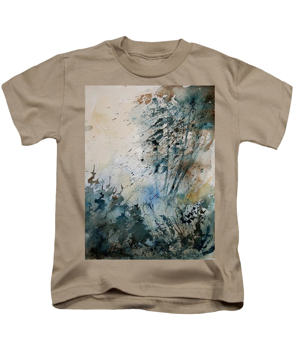 Tree Kids T-Shirt featuring the painting Watercolor 148708 by Pol Ledent