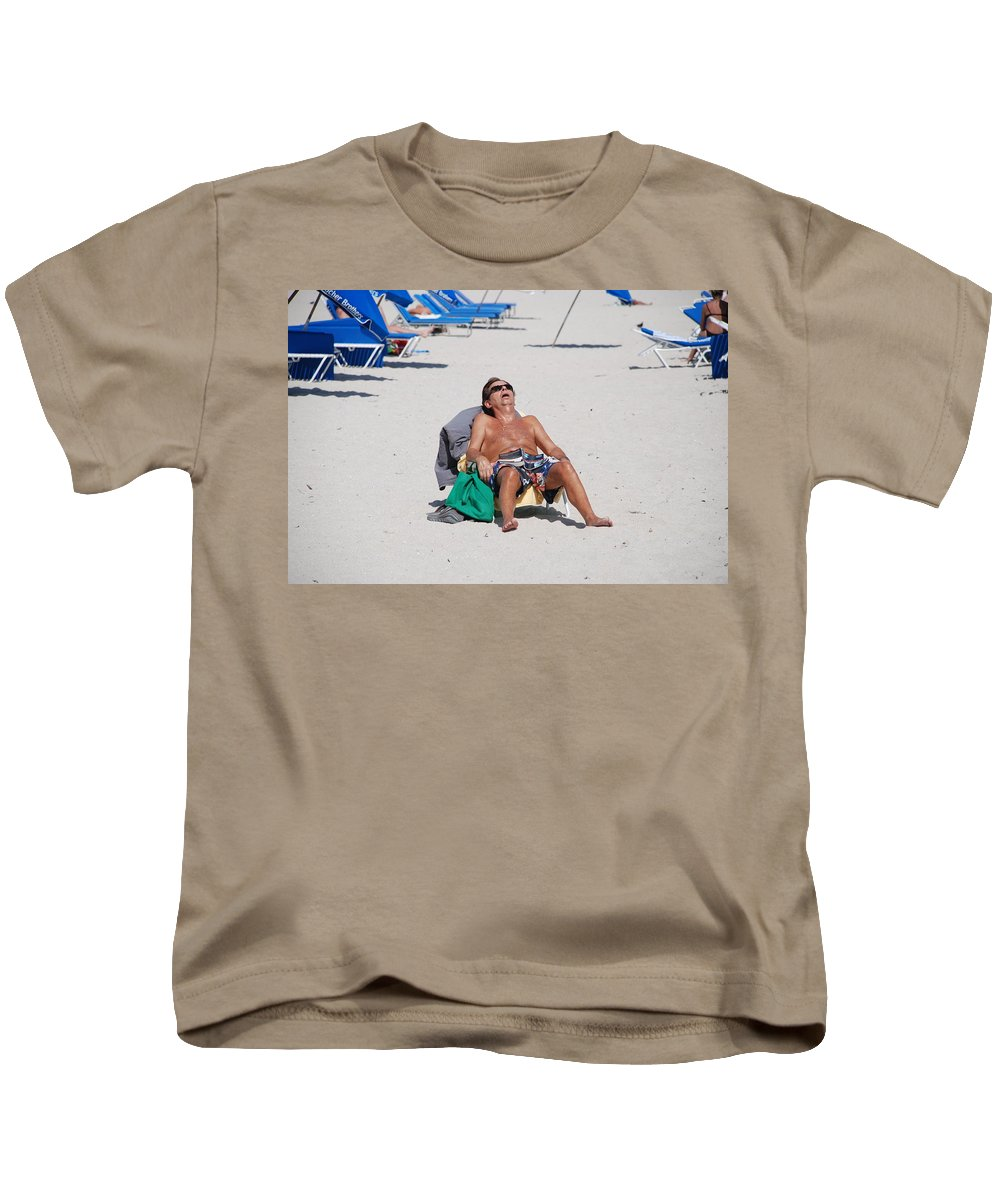 Beach Kids T-Shirt featuring the photograph Weekend At Bernies by Rob Hans