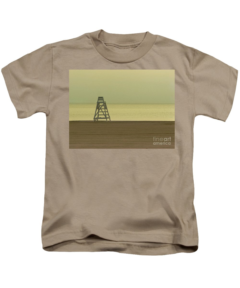 Beach Kids T-Shirt featuring the photograph Will You Lay Here With Me And Just Forget The World by Dana DiPasquale