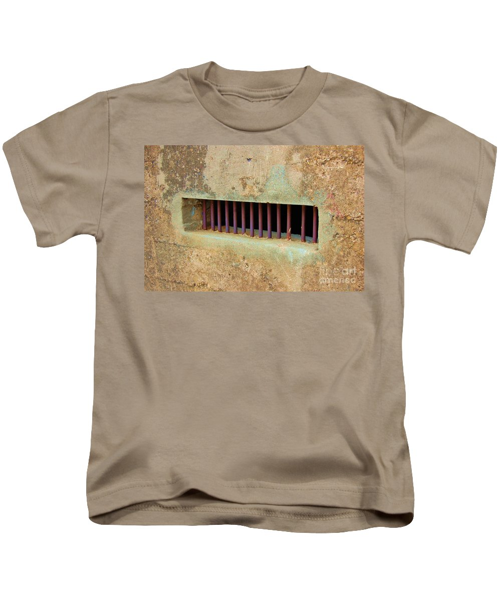 Jail Kids T-Shirt featuring the photograph Window To The World by Debbi Granruth