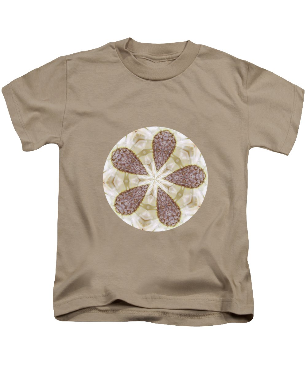 Wildflower Kids T-Shirt featuring the photograph Yellow Star Thistle by Valerie Anne Kelly